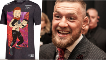 Reebok's new Conor McGregor t-shirt is being slaughtered online