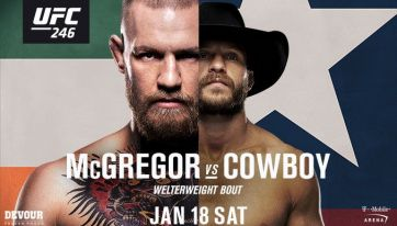 Viewing party in Dublin for Conor McGregor's comeback at UFC 246