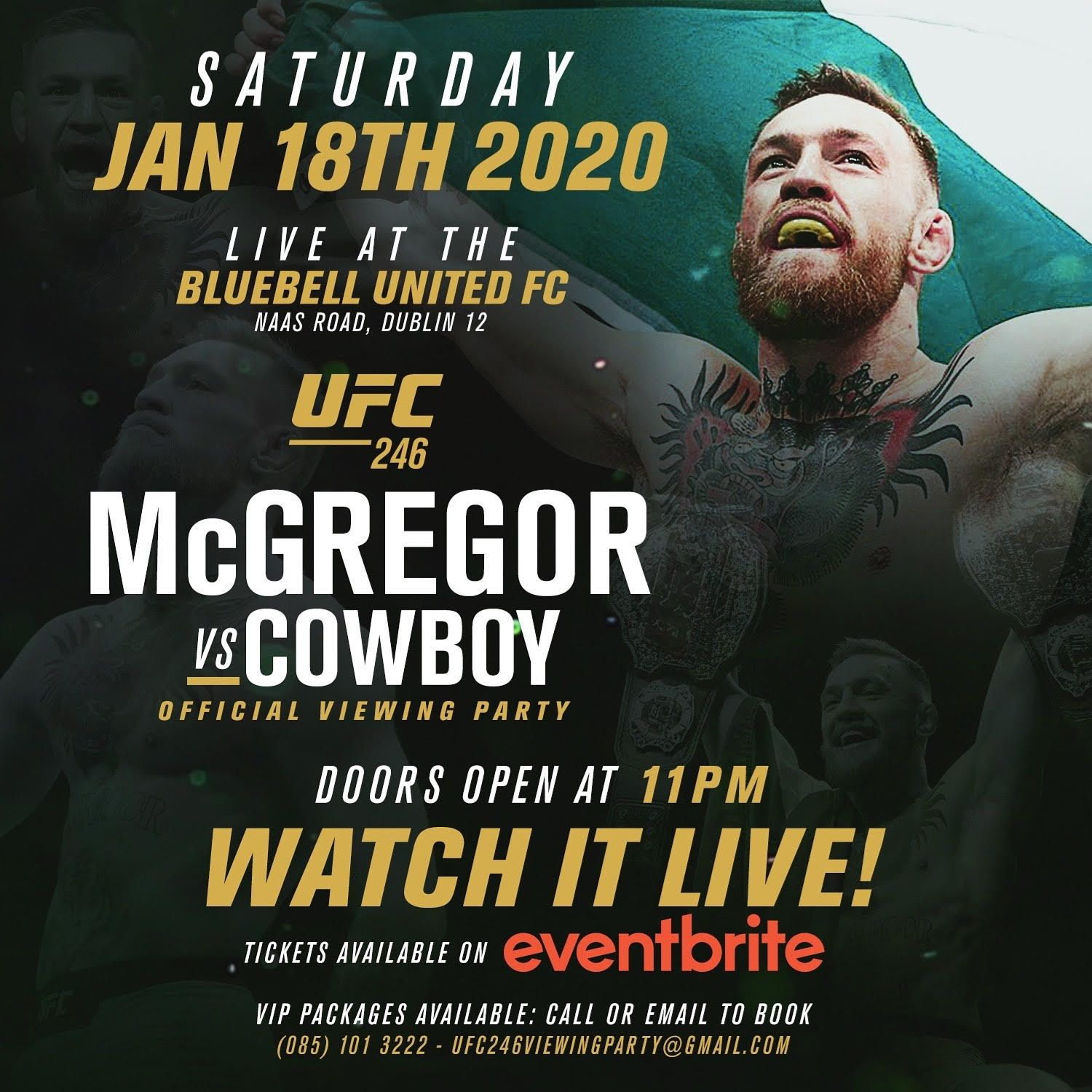 UFC 246 viewing party