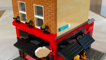 Someone has made a Lego version of Grogans on South William Street