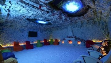 These Dublin salt caves look like the ultimate way to relax
