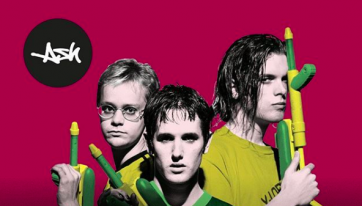 Remember Ash? They're performing in Tower Records on Dawson Street in February