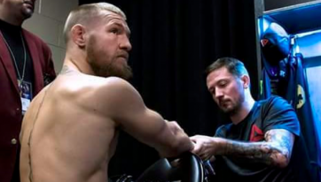 "Conor McGregor's coach reveals hilarious ""advice"" from pre-fight email"