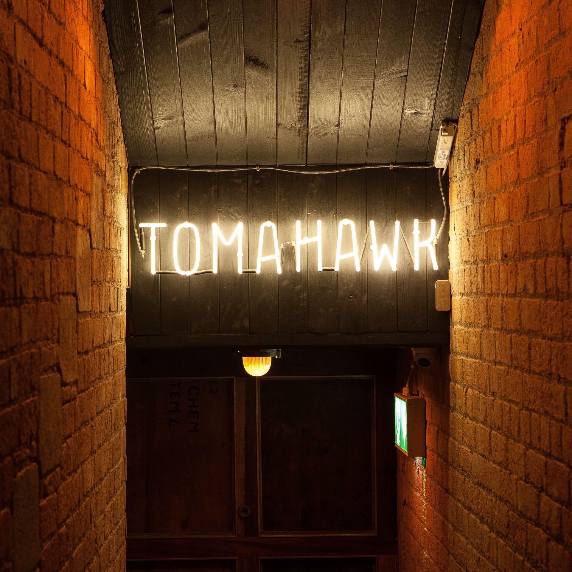 Tomahawk Dublin entrance
