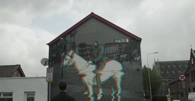 Horseboy mural in Smithfield
