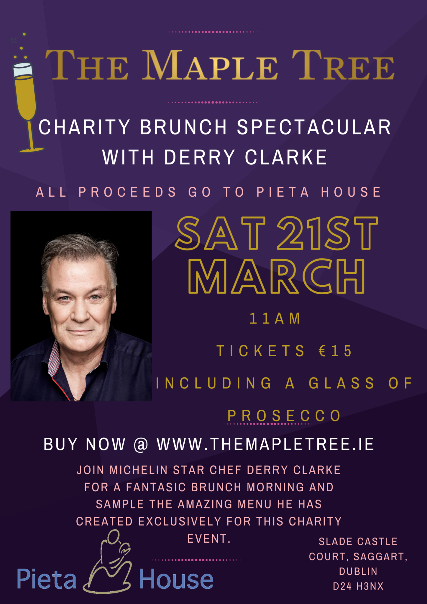 The Maple Tree fundraiser in aid of Pieta House