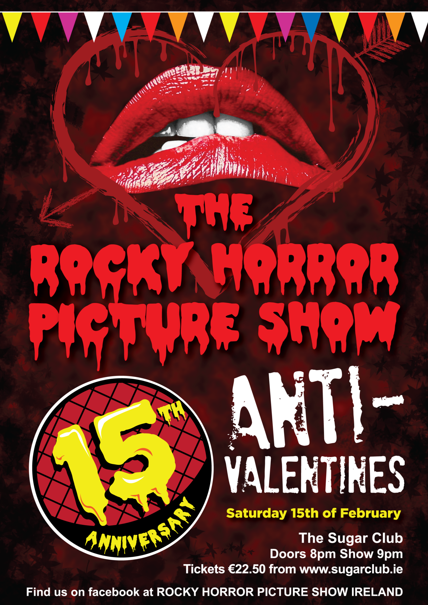 Anti-Valentine Show at The Sugar Club