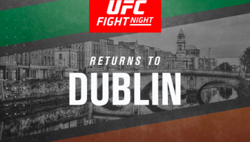 UFC returning to Dublin after almost five years