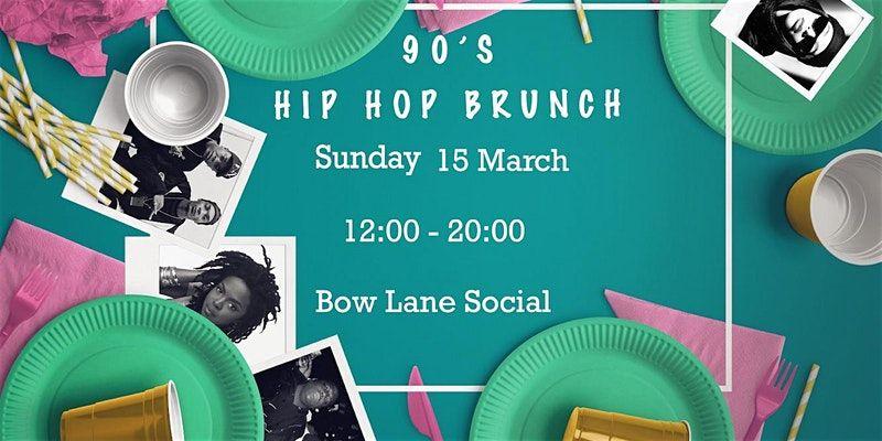bow lane social 90s hiphop brunch