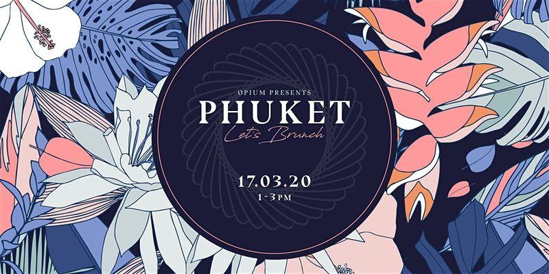 Phuket bottomless brunch - one of OPium's themed brunches