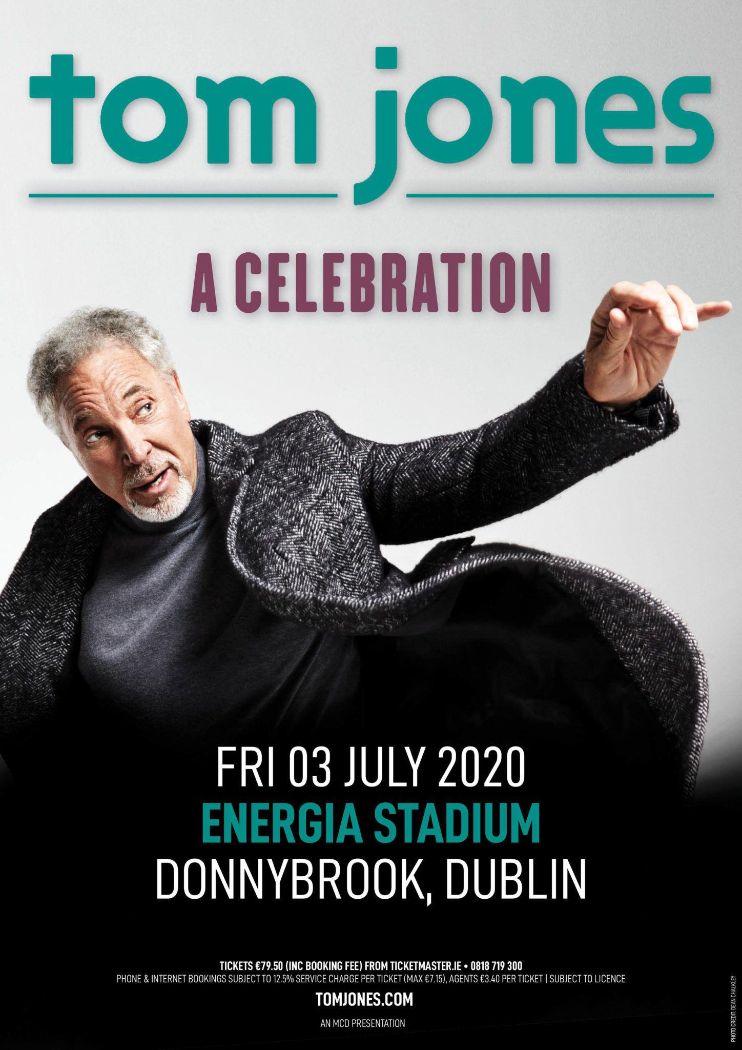 Tom Jones Dublin gig