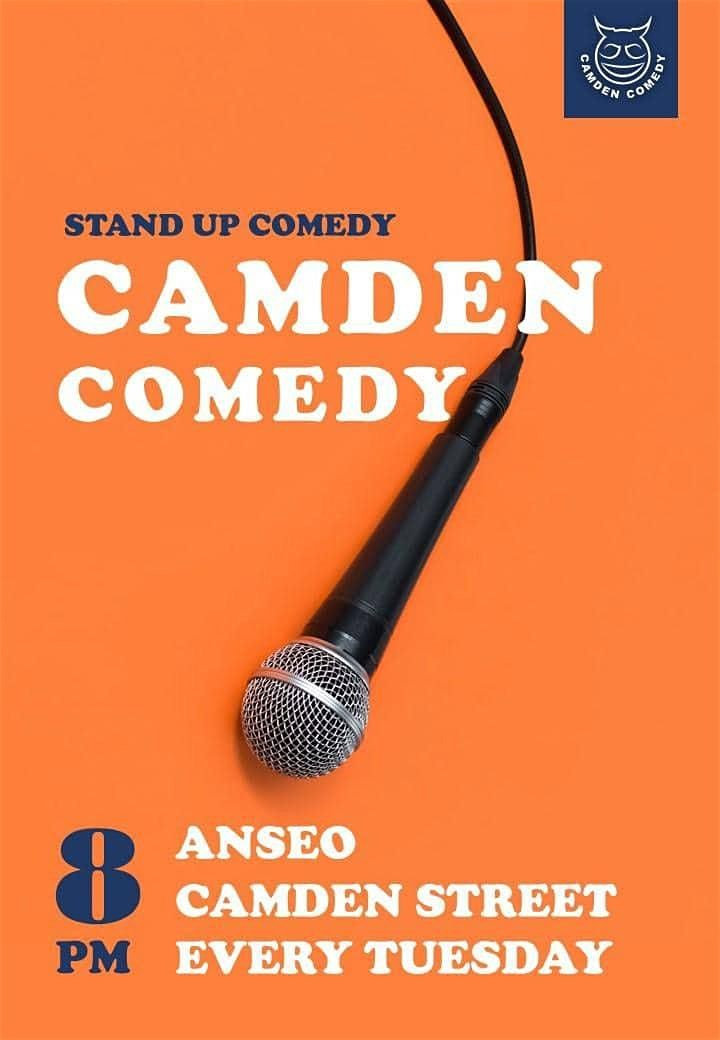poster for an alternative Paddy's Day comedy show in Anseo on Camden Street