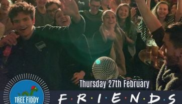 Friends-themed comedy night taking place in Dublin tomorrow