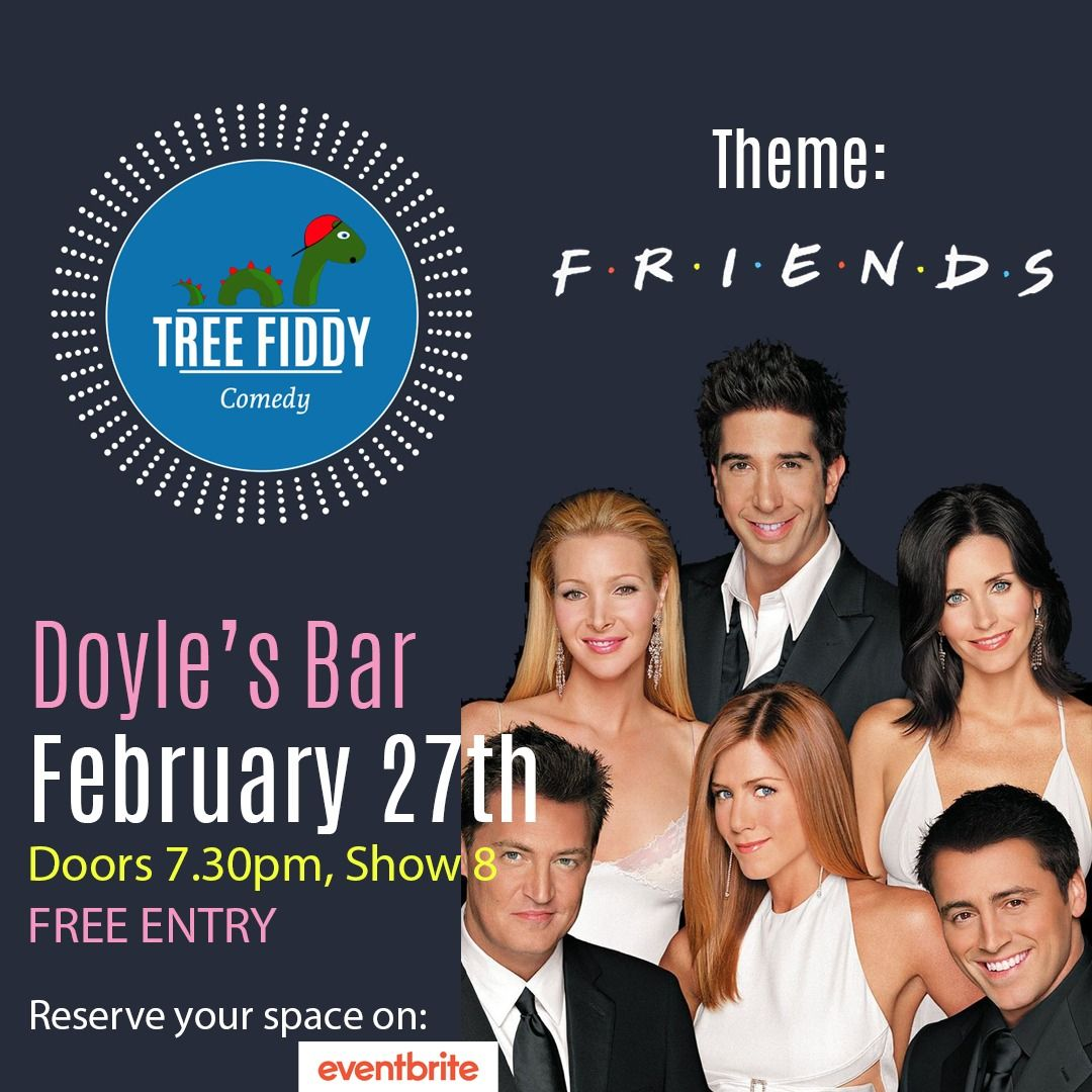 Friends-themed comedy night