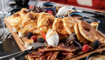 A Dublin restaurant is now serving pancake platters