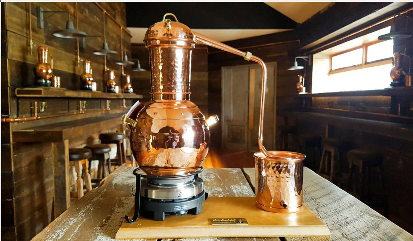 copper pot gin school