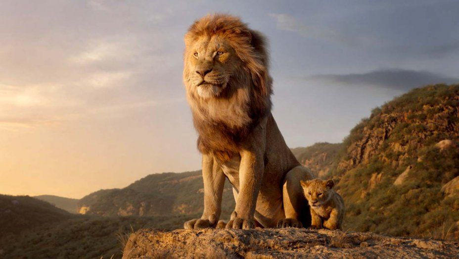 the lion king movies on Disney+