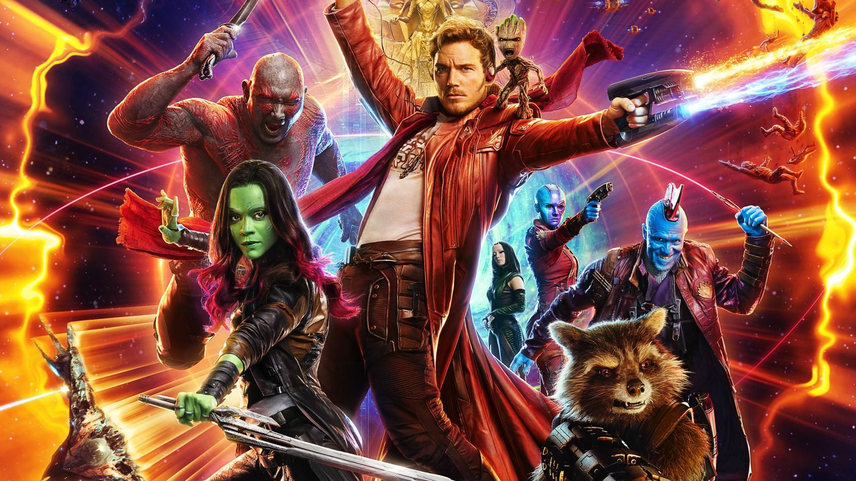 guardians of the galaxy movies on Disney+