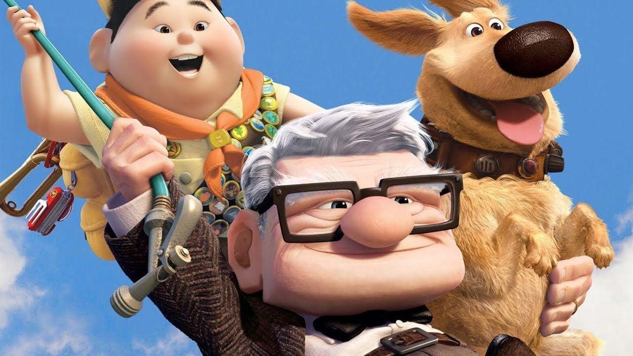 pixar up on Disney+