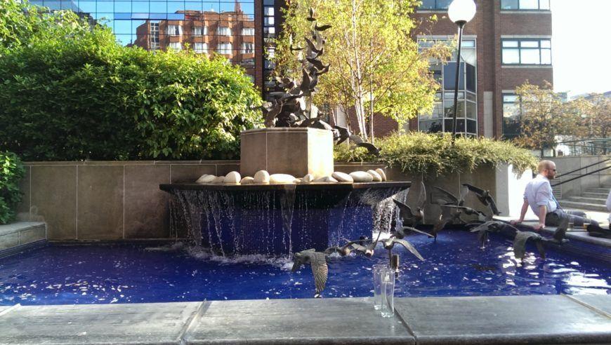 Alfie-Byrnes-Fountain