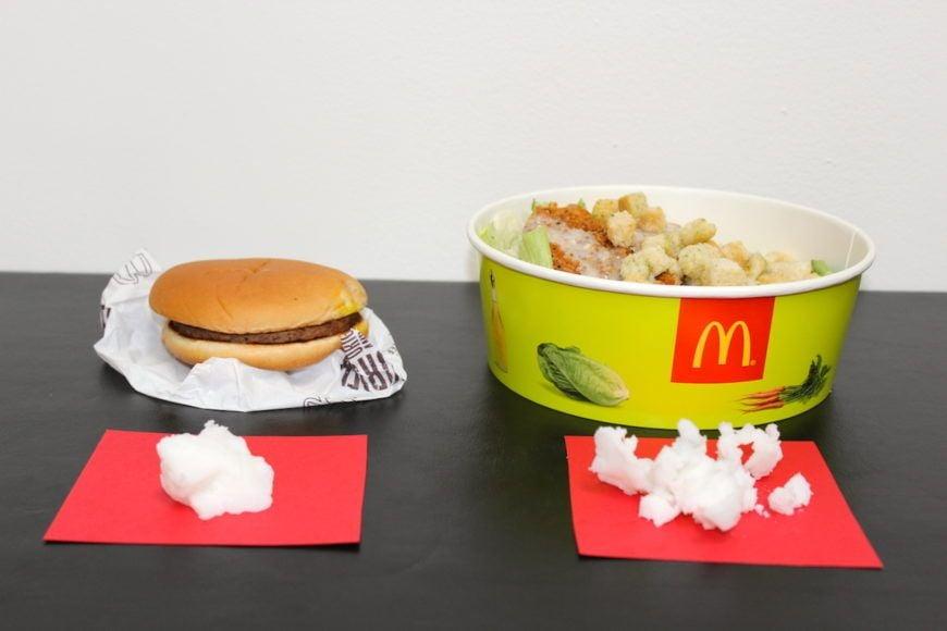 Burger-V-Salad