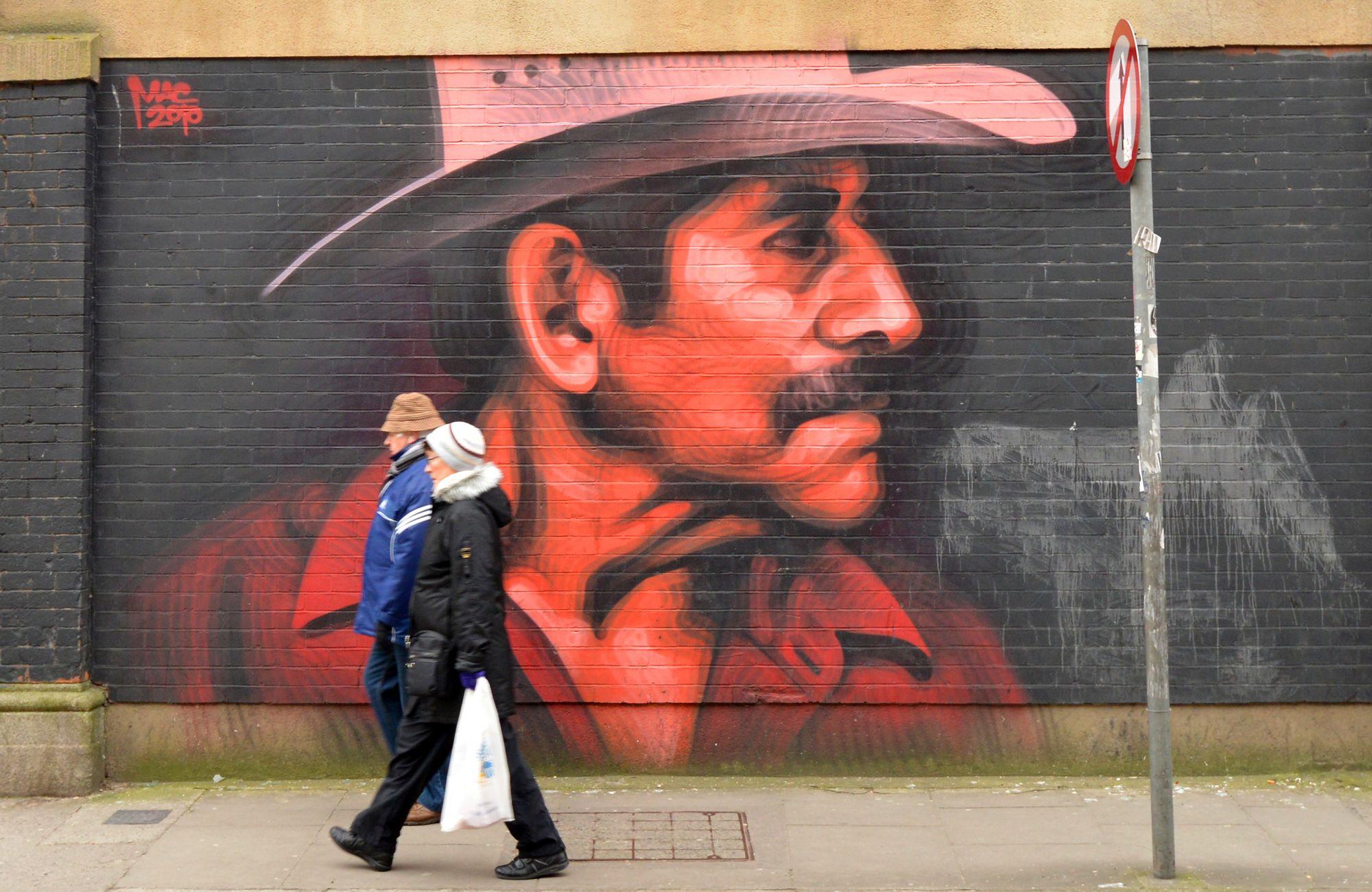Street Art, Tivoli Theatre, Dublin
