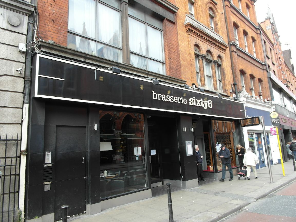 Brasserie Sixty6 Front