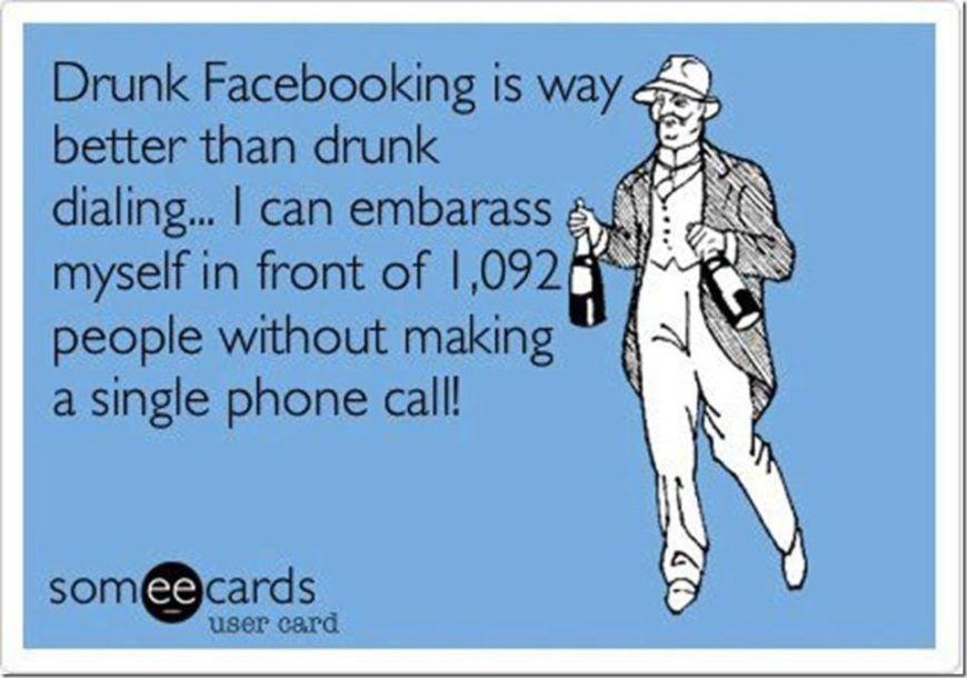Drunk-Facebooking