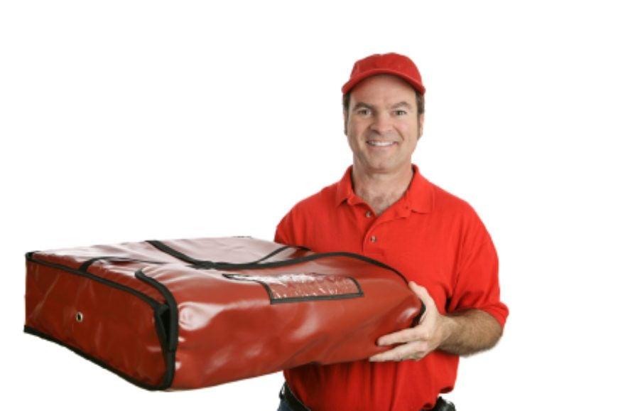 ist2 2441227-pizza-man-thermal-bag