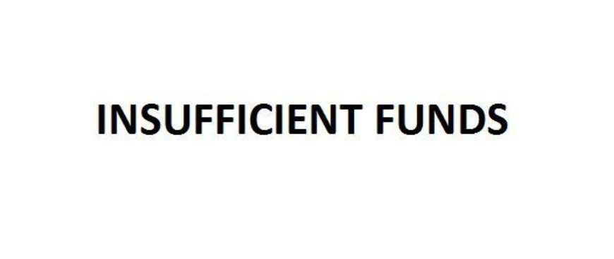 INSUFFICIENT-FUNDS