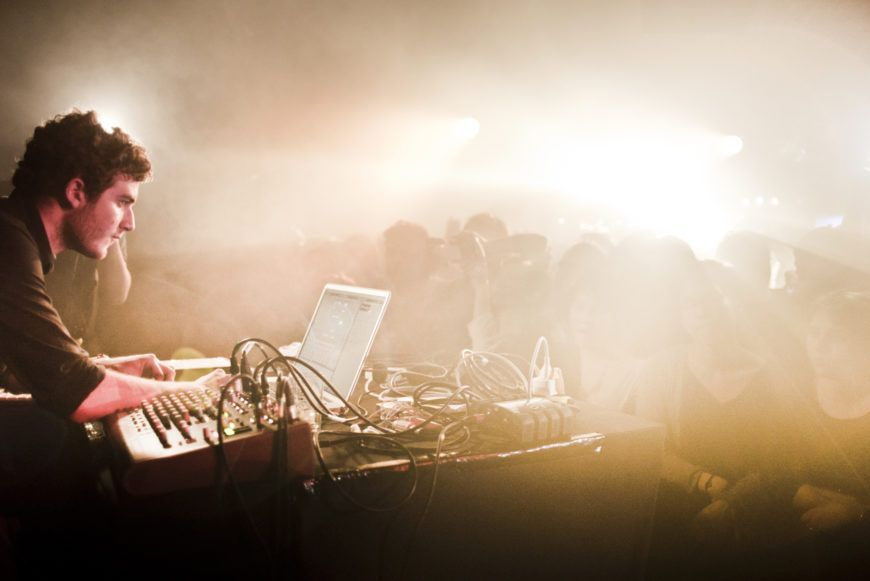 Nicolas Jaar live at Rex Club Paris