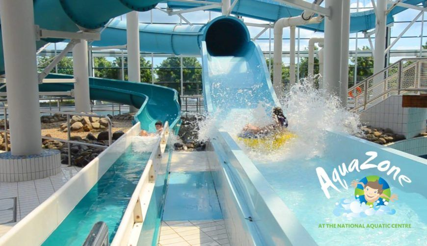 Pack your togs for one of the best things to do with kids in Dublin at AquaZone