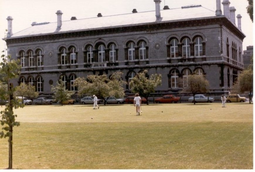 Croquet at Trinity College Dublin - geograph.org.uk - 945539