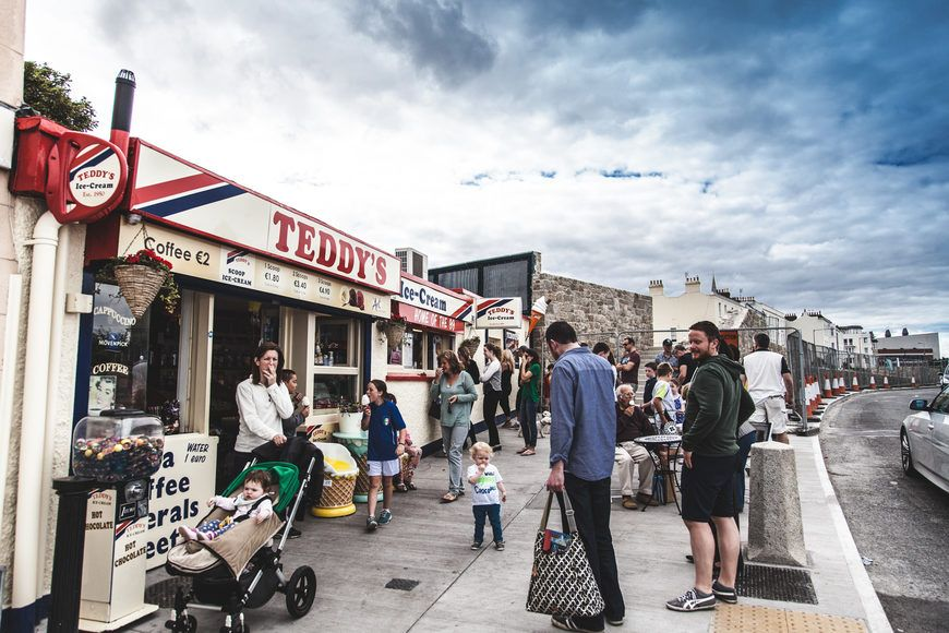 Dun Laoghaoire pier is one of the best things to do with kids in Dublin