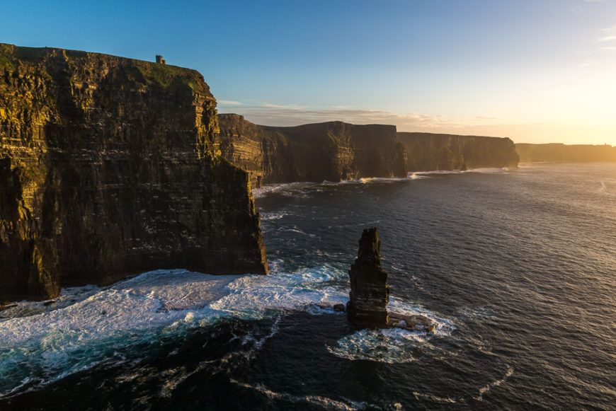 IRL-CE-003-32-cliffs of moher sunset2