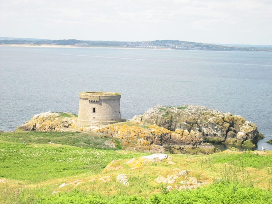 Ireland Eye Martello Tower