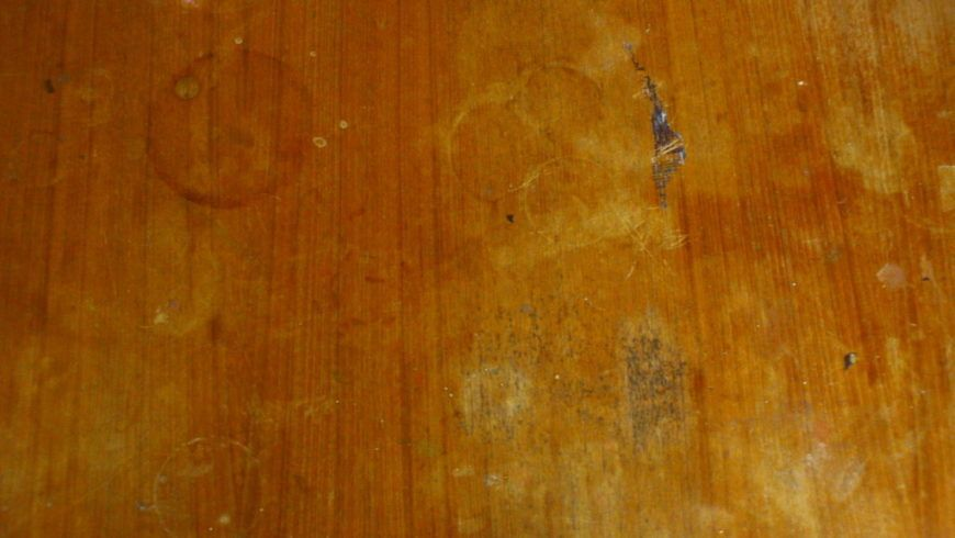 dirty wooden table by emerald stock-d3ks78y