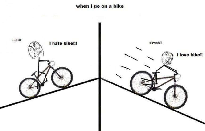 Ride-A-Bike-Uphill-vs-Downhill