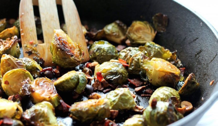 Brussels  Sprouts With  Bacon 745 X 430