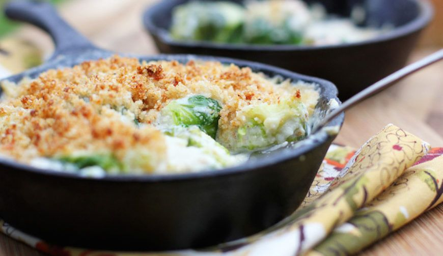 Cheesy  Brussels  Sprouts  Gratin 745 X 430