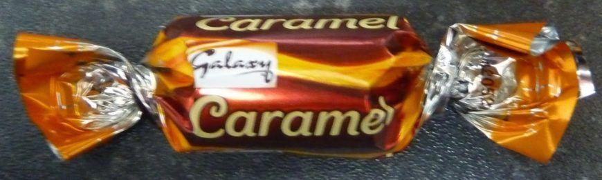 Galaxy  Caramel Wrapper