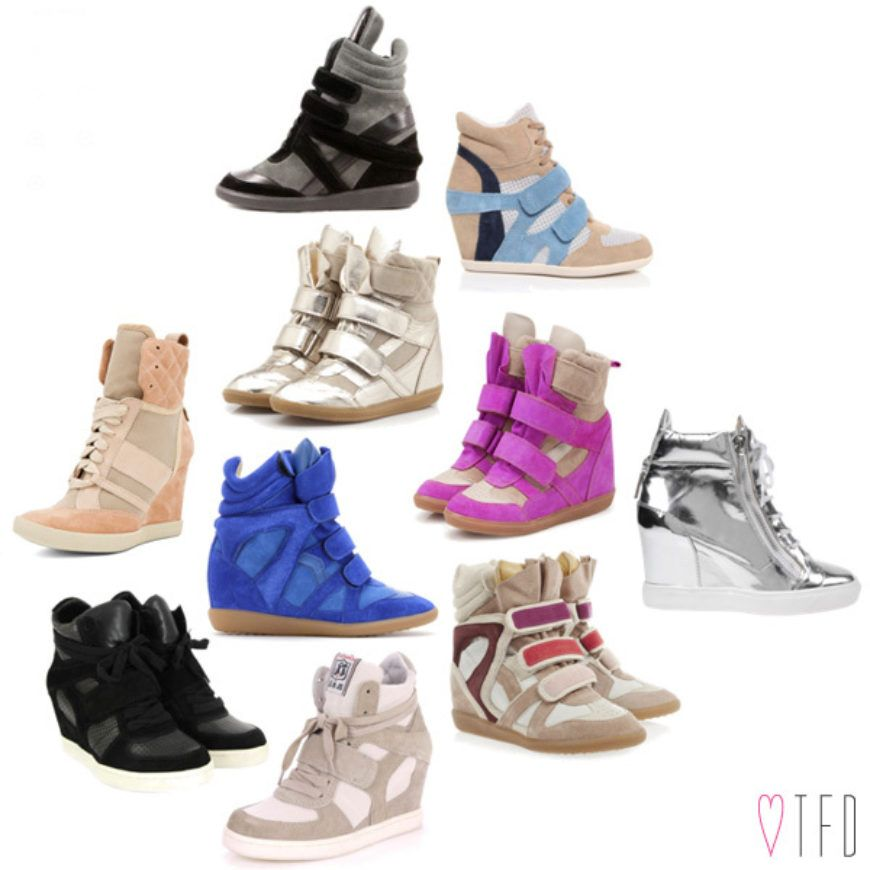 Wedge Sneaker Edit