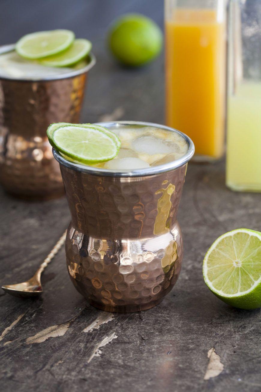 6 Mocktail Mango Mule
