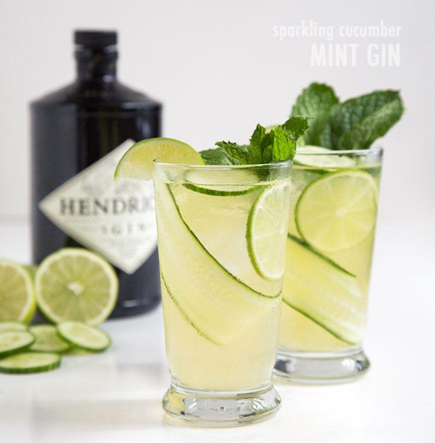 1 Cucumber Mint Gin