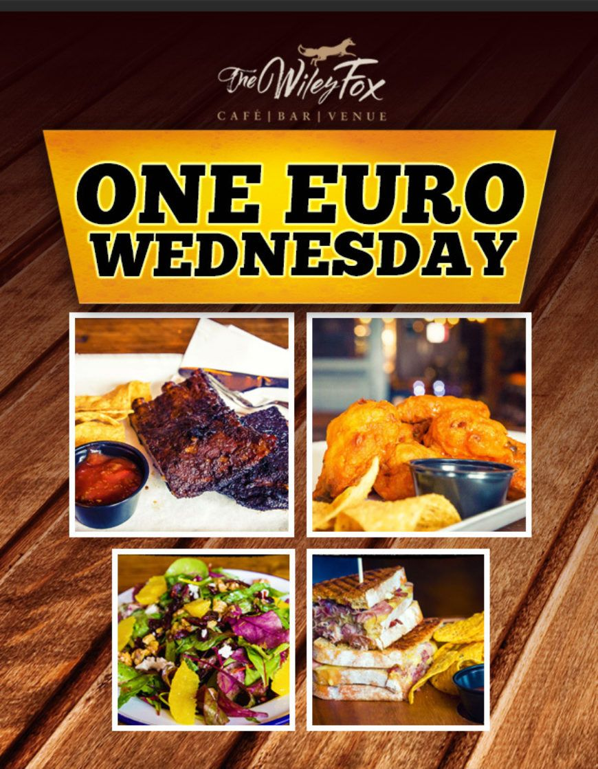 One Euro Lunch Poster