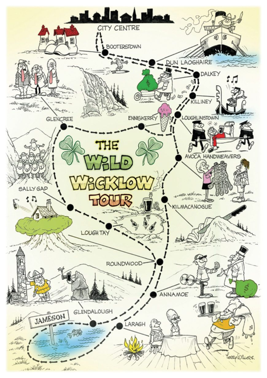 Wild Wicklow Map A4