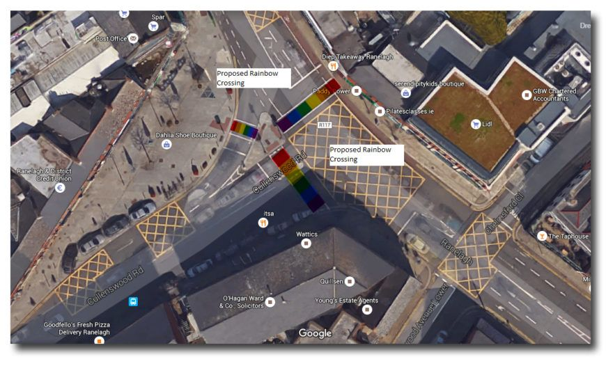 Rainbow Crossing Map Ranelagh