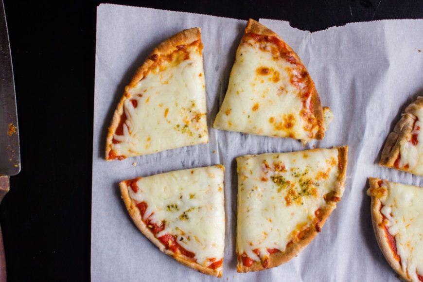 Whole Wheat Pita Pizza 3 Ingredients 3 Minute 7