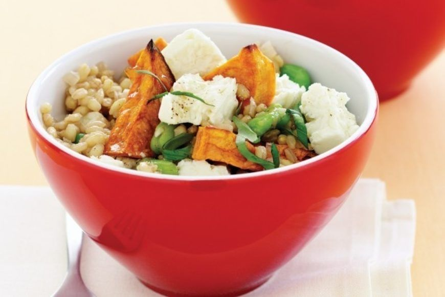 Barley Pilaf With Sweet Potato And Basil 2505 L