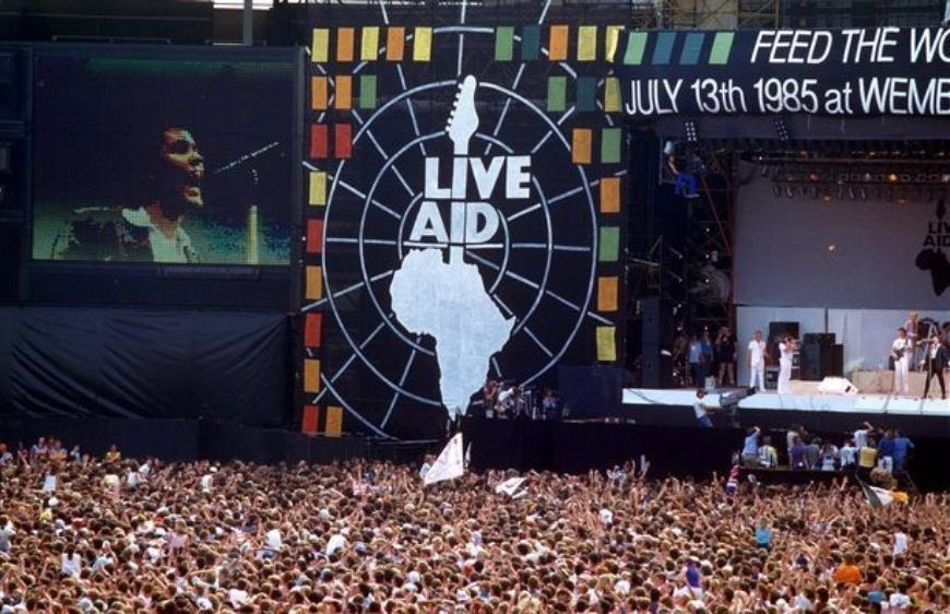 Live Aid 30Th Anniversary